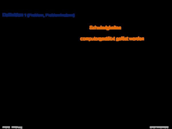 Begriffserklärung Definition 1 (Problem, Probleminstanz)