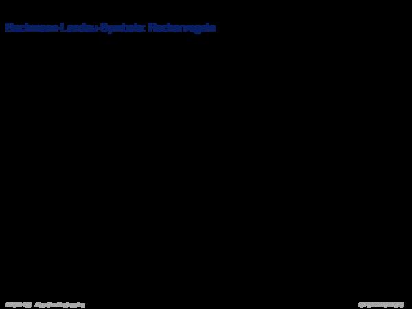 Asymptotische Analyse Bachmann-Landau-Symbole: Rechenregeln