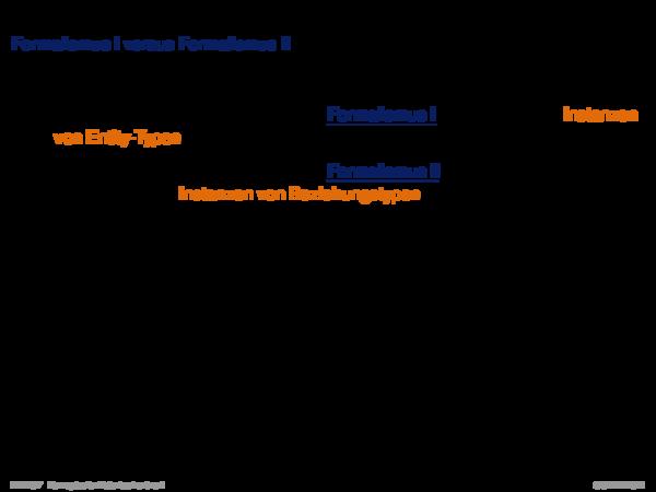 Charakterisierung von Beziehungstypen Umwandlung n-stelliger Beziehungen
