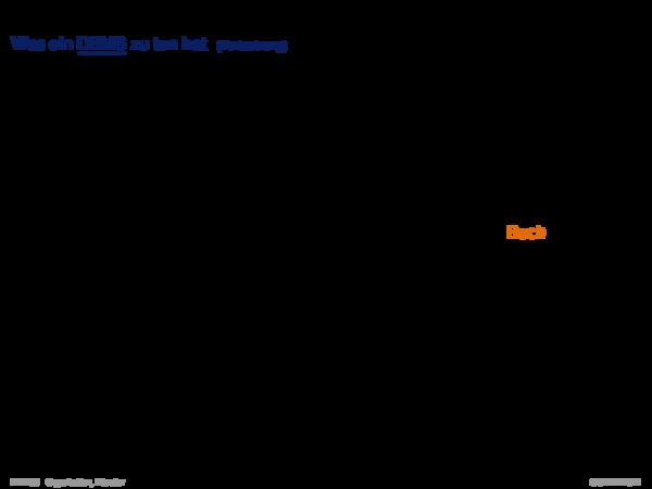 Datenbank-Management-Systeme Ebene 1