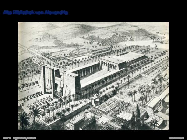 Entstehung von Datenbanksystemen Alte Bibliothek von Alexandria