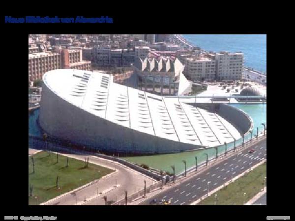 Entstehung von Datenbanksystemen Neue Bibliothek von Alexandria