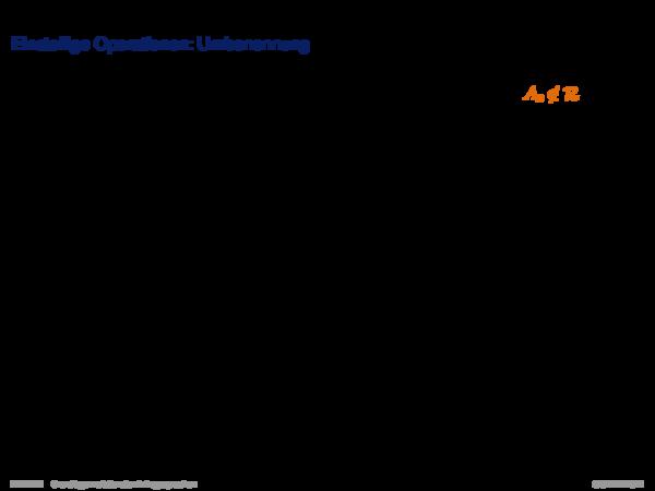 Relationale Algebra Einstellige Operationen: Umbenennung
