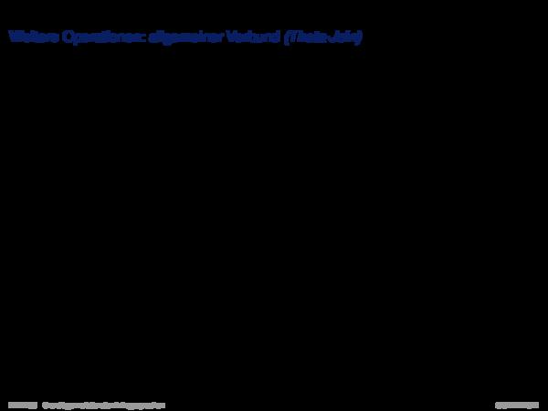 Relationale Algebra Weitere Operationen: allgemeiner Verbund (Theta-Join)