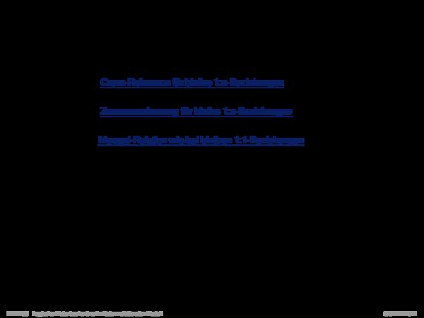 Umsetzung ER-Schema in relationales Schema Existenzabhängige Entity-Typen