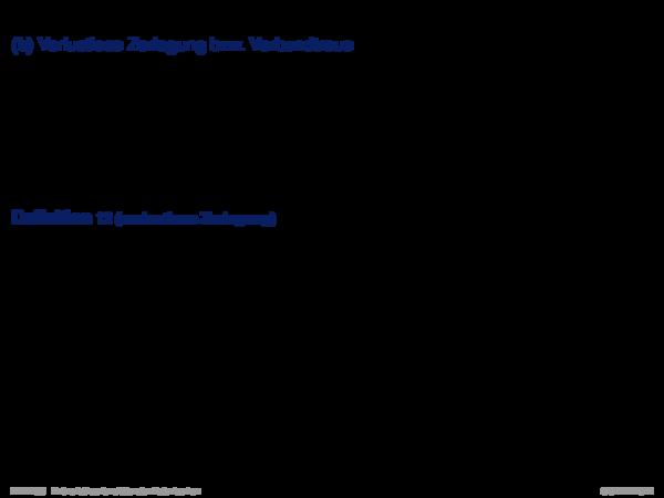 Dekompositionseigenschaften von Relationen (b) Verlustlose Zerlegung: Beispiel