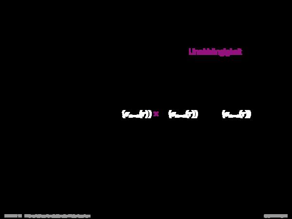 Mehrwertige Abhängigkeiten Sei R ein relationales Schema und gelte α, β, γ ⊆ R mit α ∪ β ∪ γ = R und sei r