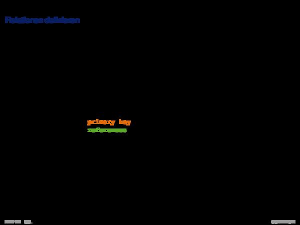 SQL als Datendefinitionssprache Relationen definieren