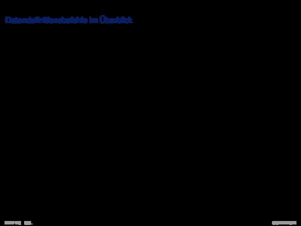 SQL als Datendefinitionssprache Datendefinitionsbefehle im Überblick