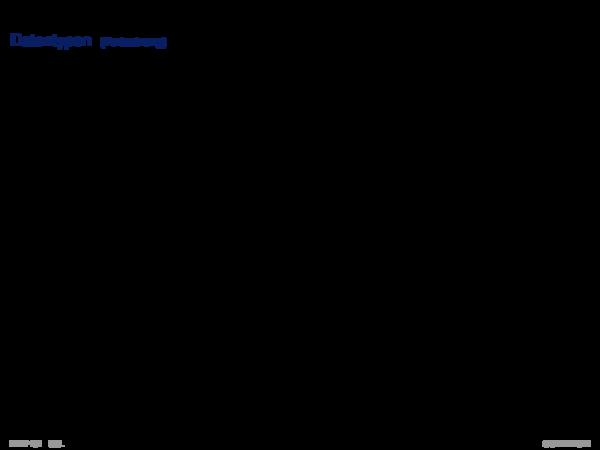 SQL als Datendefinitionssprache Domains (SQL-92)