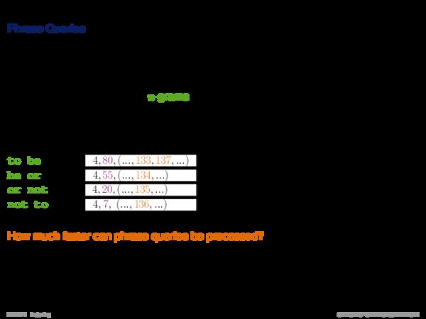 Query Processing II Retrieval Types