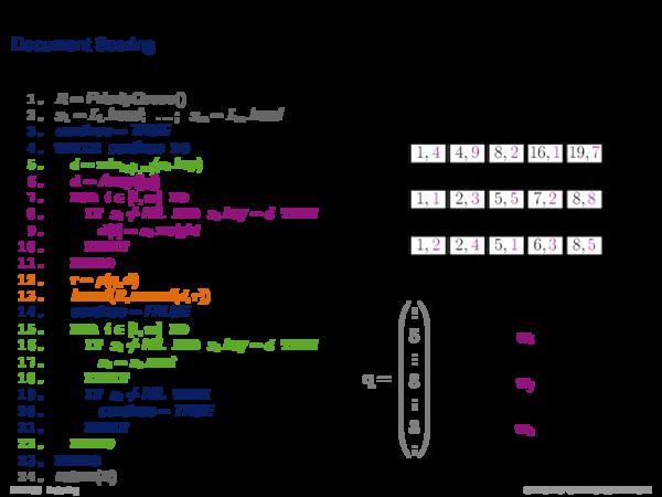 Index Construction Index Merging