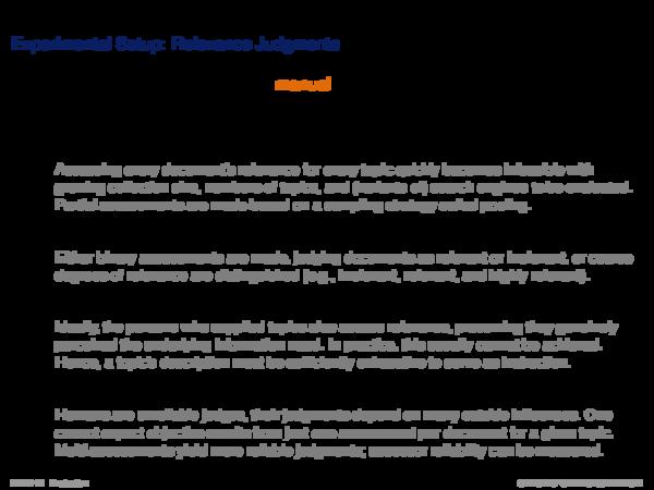 Evaluation Corpus Assessment Sampling Strategy: Pooling