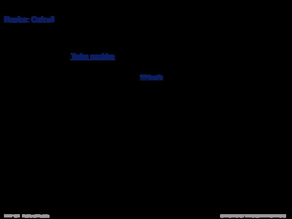 Language Models Basics: Calculi
