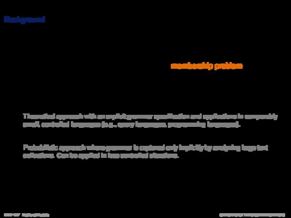 Language Models Background