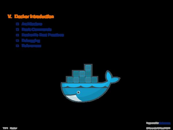Chapter T:V V. Docker Introduction