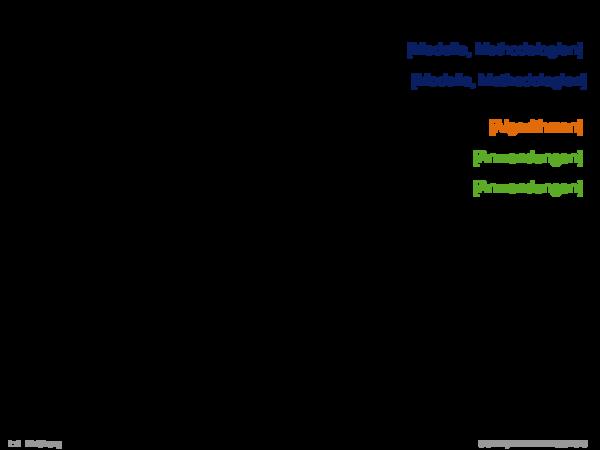 Angrenzende Gebiete 1. Formale Sprachen