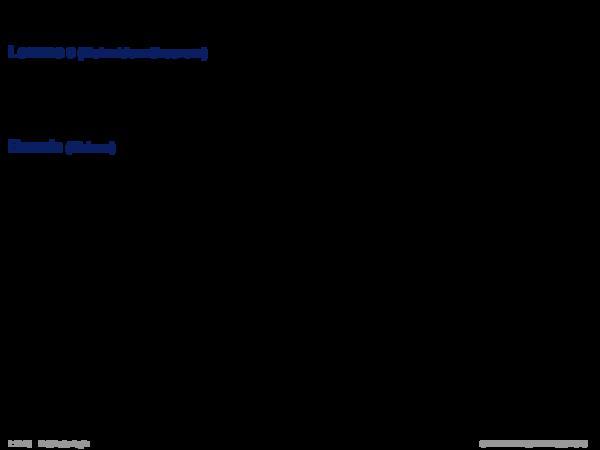 Semantik der Prädikatenlogik Lemma 8 (Koinzidenztheorem)