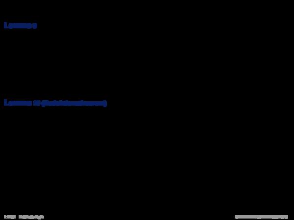 Semantik der Prädikatenlogik Lemma 9