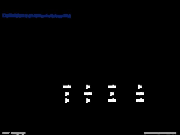 Semantik der Aussagenlogik Definition 9 (Erfüllbarkeitsbegriffe)