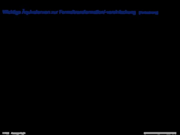 Äquivalenz Wichtige Äquivalenzen zur Formeltransformation\u002f-vereinfachung