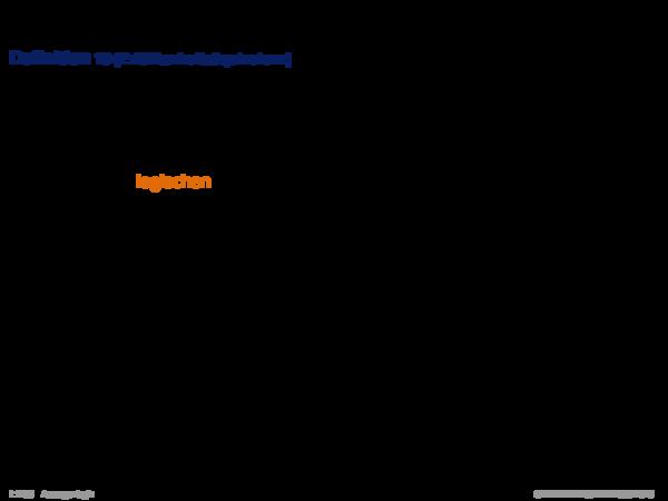 Äquivalenz Definition 18 (Erfüllbarkeitsäquivalenz)