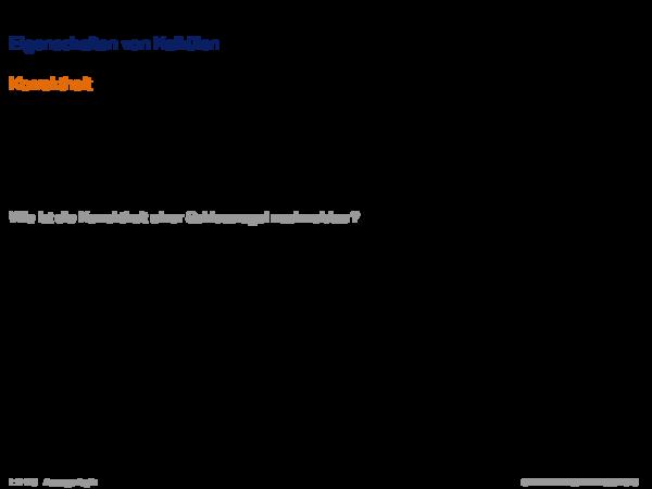Syntaktische Schlussfolgerungsverfahren Eigenschaften von Kalkülen