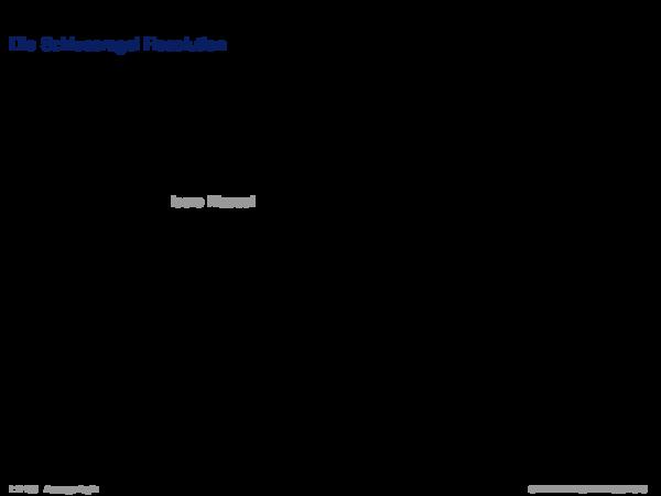 Syntaktische Schlussfolgerungsverfahren Die Schlussregel Resolution