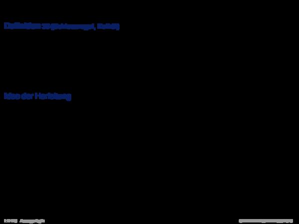Syntaktische Schlussfolgerungsverfahren Definition 25 (Schlussregel, Kalkül)