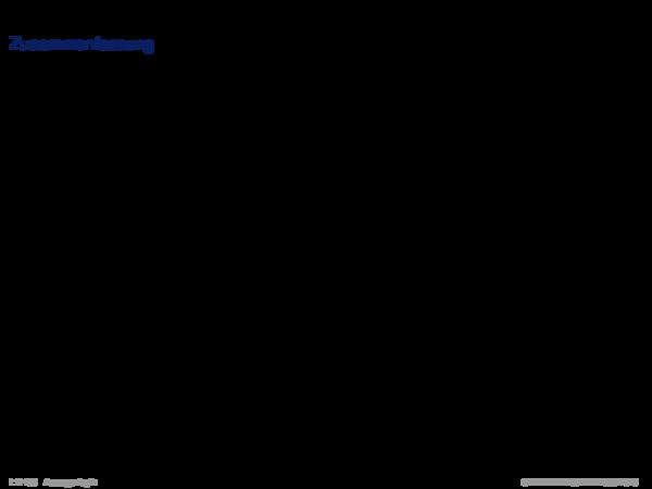 Syntaktische Schlussfolgerungsverfahren Zusammenfassung