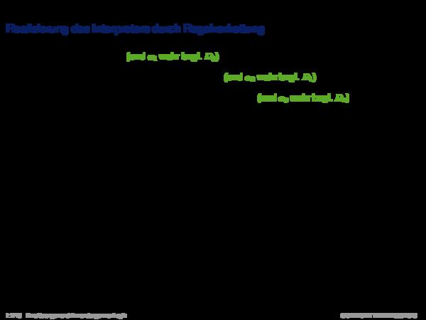 Produktionsregelsysteme Realisierung des Interpreters durch Regelverkettung