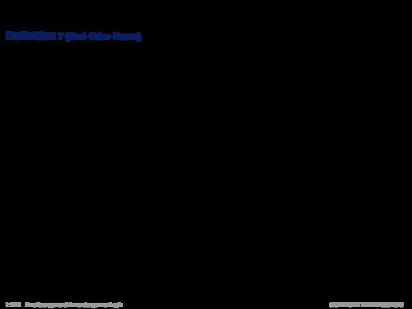 Inferenz für Produktionsregelsysteme Definition 7 (Und-Oder-Baum)