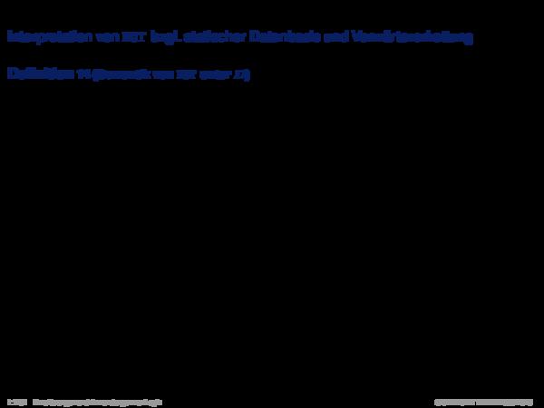 Produktionsregelsysteme mit Negation Interpretation von NOT bzgl. statischer Datenbasis und Vorwärtsverkettung