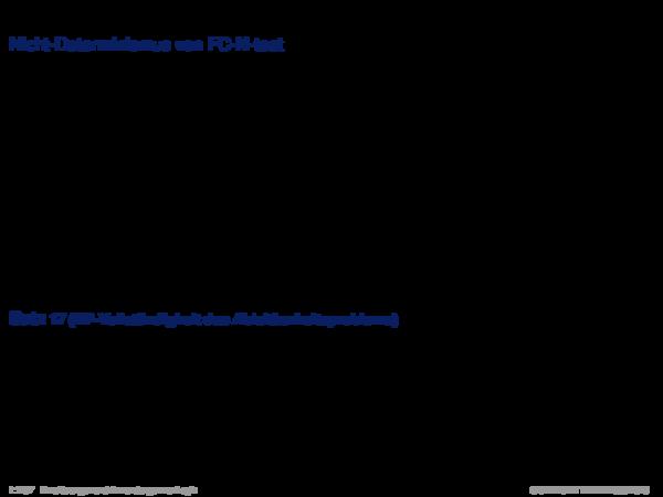 Produktionsregelsysteme mit Negation Nicht-Determinismus von FC-N-test