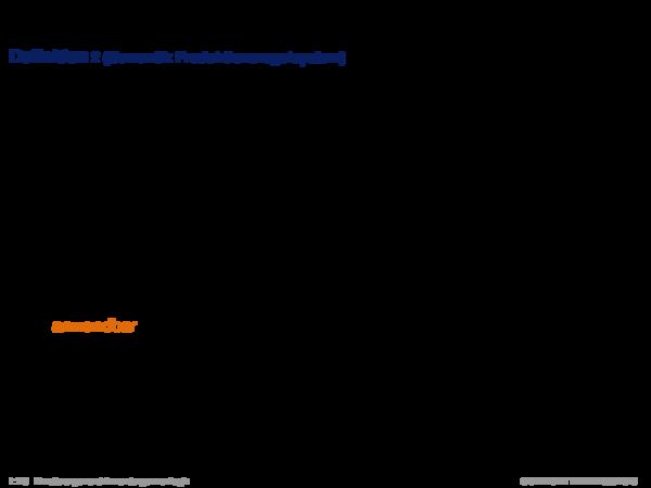 Produktionsregelsysteme Definition 2 (Semantik Produktionsregelsystem)