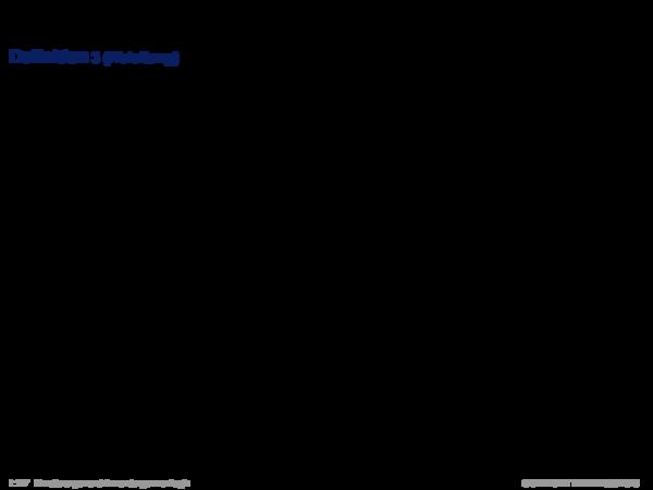 Produktionsregelsysteme Definition 3 (Ableitung)