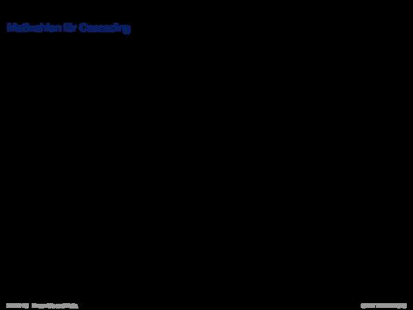 Ensemble Methods Maßzahlen für Cascading