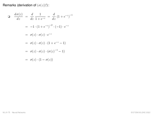 Multilayer Perceptron (1) Forward Propagation