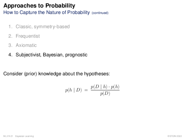 Probability Basics Independence of Events