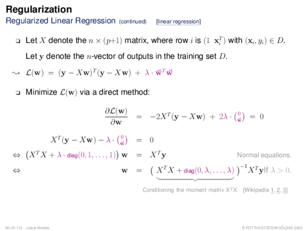 Regularization Illustration: Ridge Regression