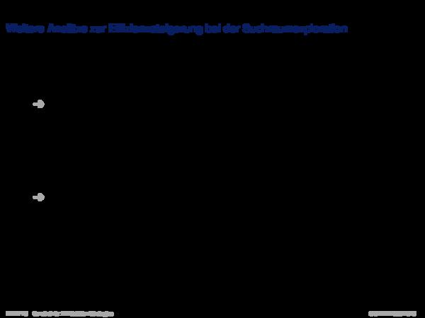 Backtracking-basierte Verfahren Weitere Ansätze zur Effizienzsteigerung bei der Suchraumexploration