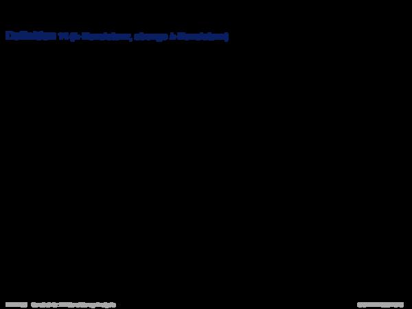 Konsistenzanalyse Definition 14 (k-Konsistenz, strenge k-Konsistenz)