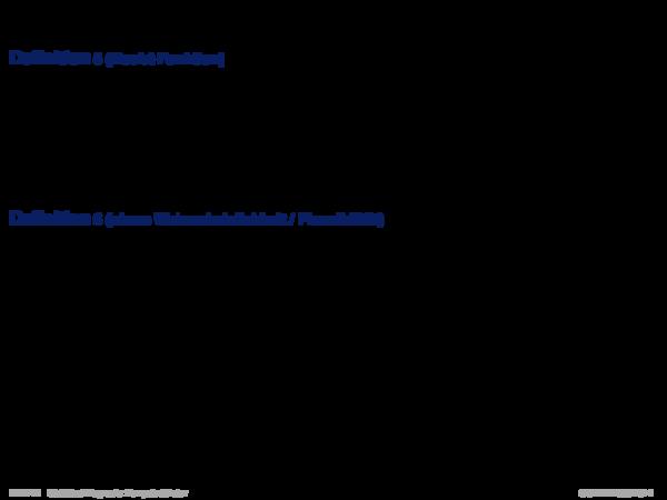 Evidenztheorie von Dempster/Shafer Definition 5 (Doubt-Funktion)
