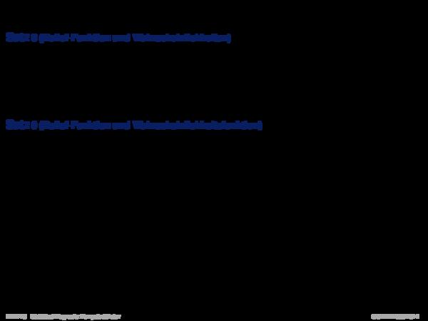 Evidenztheorie von Dempster/Shafer Satz 8 (Belief-Funktion und Wahrscheinlichkeiten)