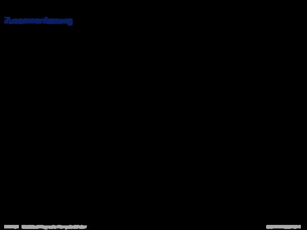 Statistische Diagnoseverfahren Zusammenfassung