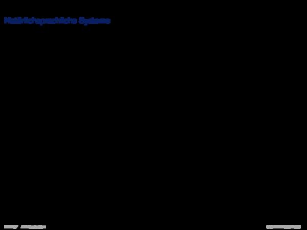 Gebiete der KI Natürlichsprachliche Systeme