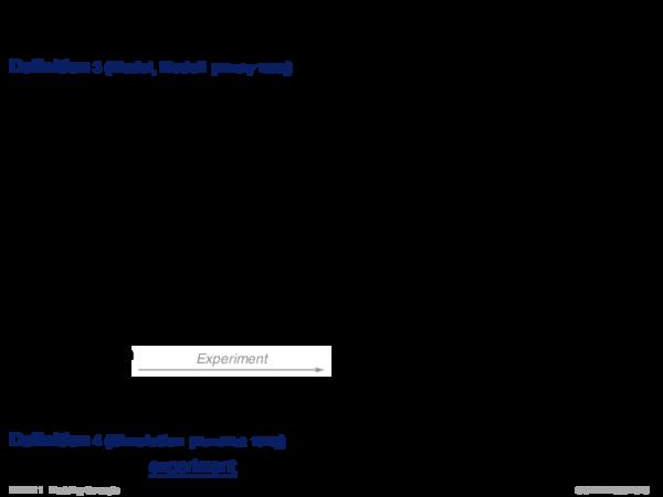 System und Modell Definition 3 (Model, Modell