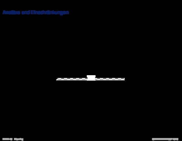 Planungsalgorithmen Ansätze und Einschränkungen