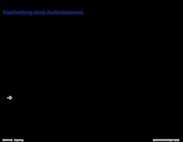 Wissensrepräsentation Beschreibung eines Zustandsraumes