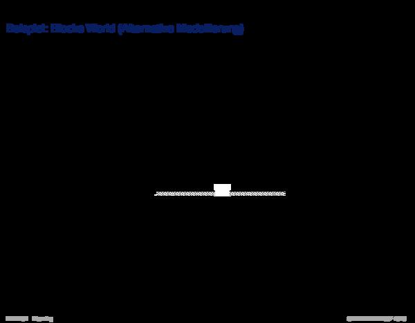 Wissensrepräsentation Beispiel: Blocks World (Alternative Modellierung)